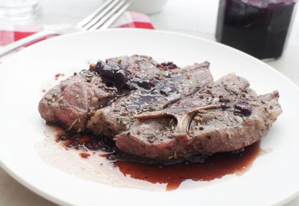 Baranie mäso na horčici |