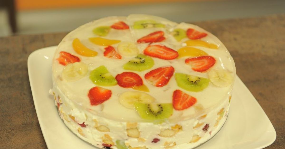 Studený ovocný koláč, fotogaléria 1 / 1.