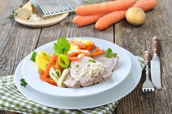 Varené bravčové mäso |