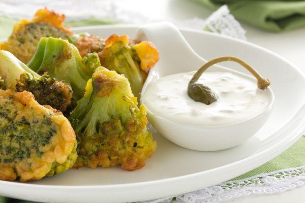 Vyprážaná brokolica |