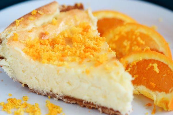 Pomarančový cheesecake |