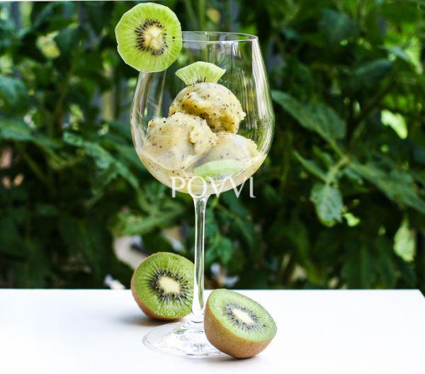 Kiwi-mätová zmrzlina |