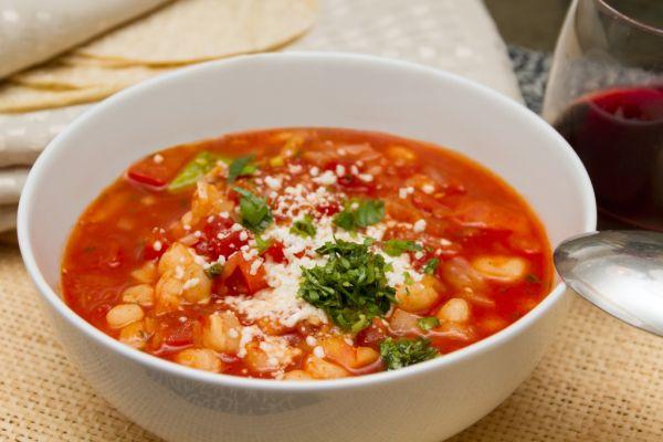 Papriková polievka s kukuricou |