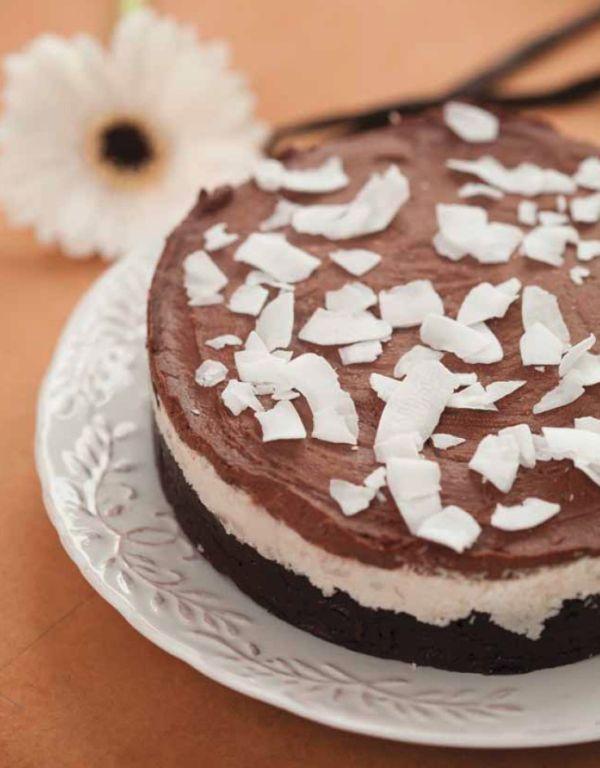 Kokosová torta bez múky |