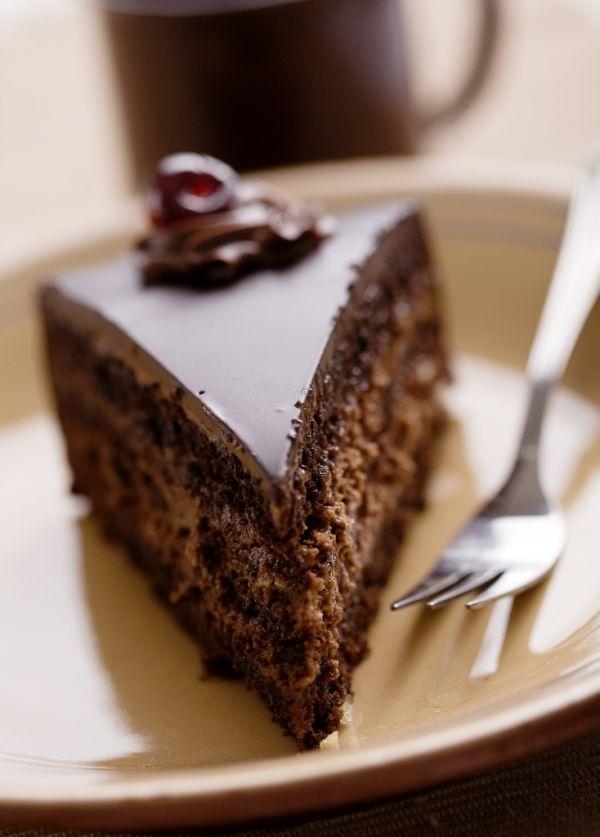 Čokoládová torta s čokoládovou plnkou |