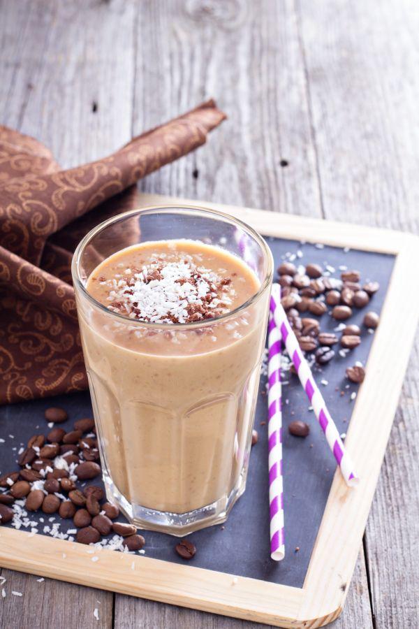 Kávovo-banánové smoothie |