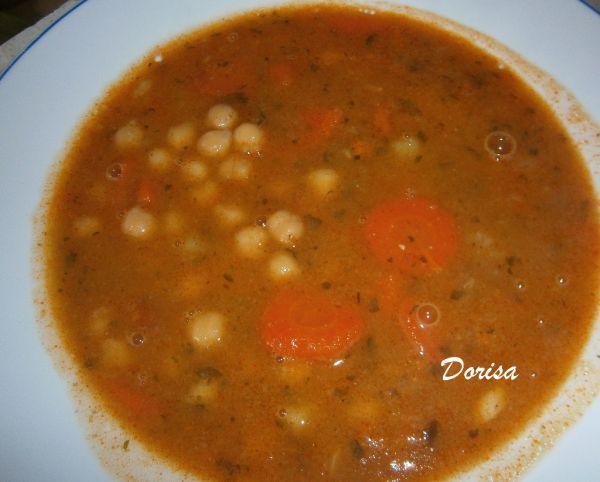 Cícerová polievka hustá |