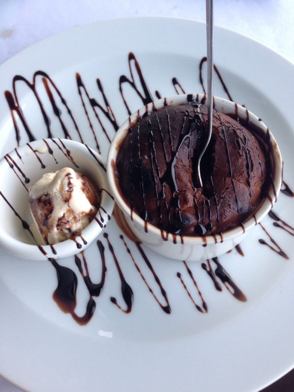 Čokoládové sufflé |