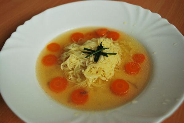 Domáce rezance do polievky  