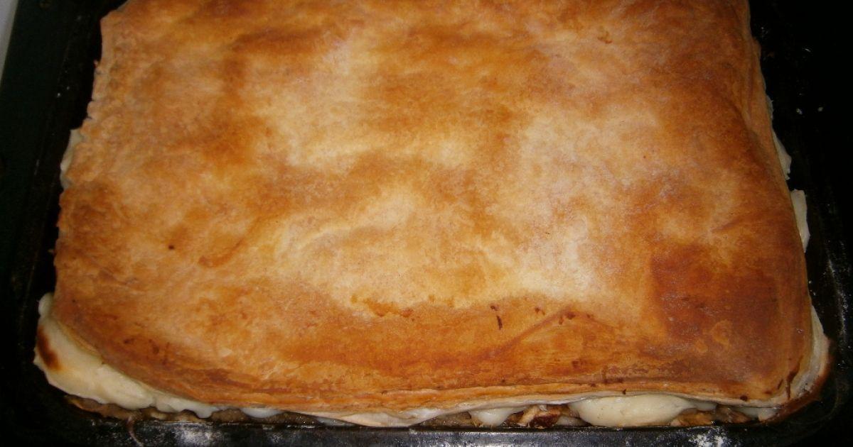 Jablkový koláč s pudingom, fotogaléria 7 / 9.