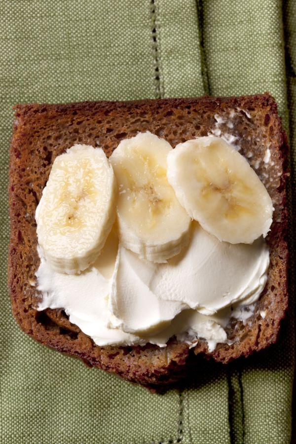 Maslová nátierka s banánom |