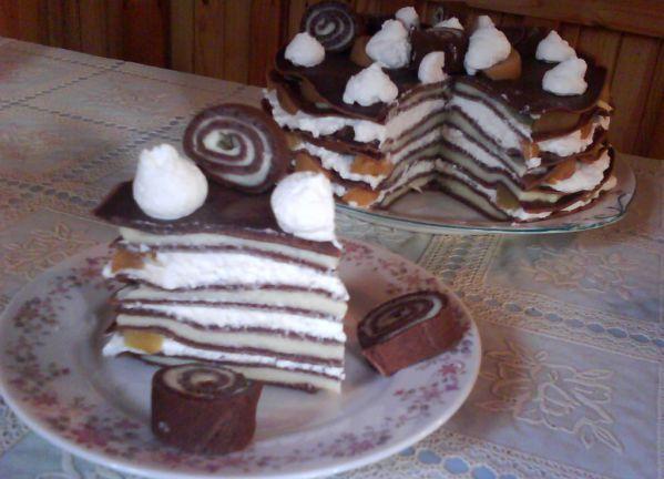 Palacinková torta Fantázia |