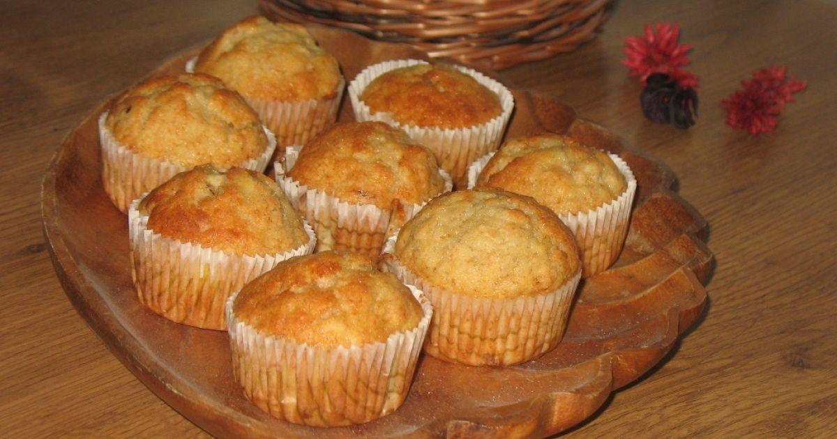 Vanilkovo-banánové muffiny, fotogaléria 1 / 7.