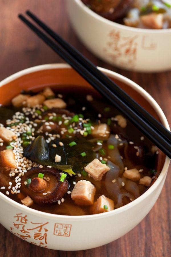 Japonská polievka miso |
