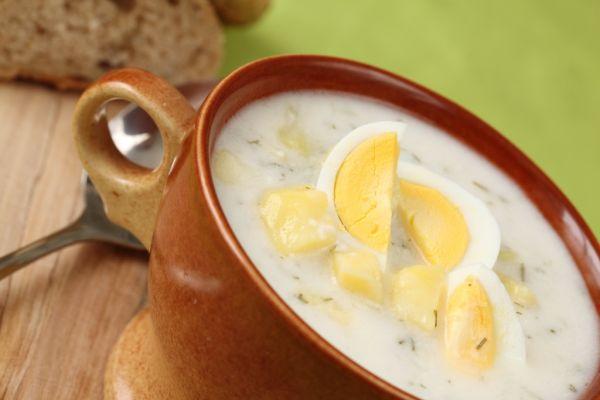 Mliečna kôprová polievka |