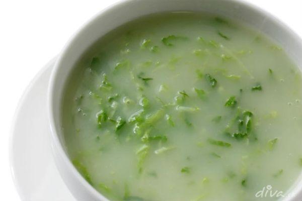 Kalerábová polievka |