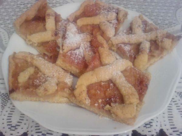 Mriežkový koláč s jablkami |