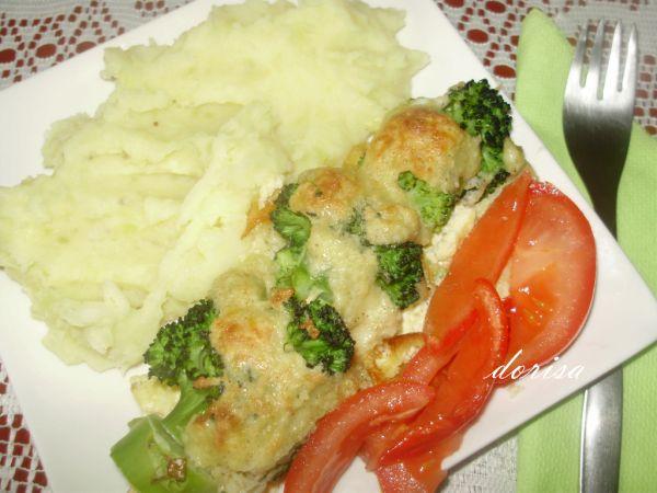Zapekané špízy z brokolice |