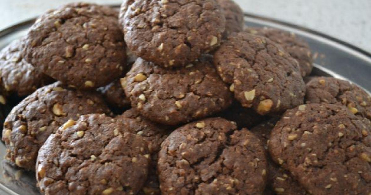Čokoládové cookies s ovsenými vločkami, fotogaléria 1 ...