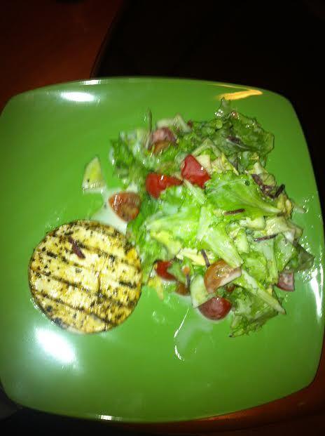 Grilovaný encián so zeleninovým šalátom |