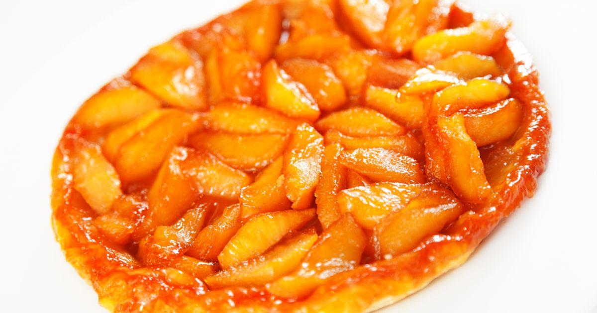 Obrátený jablkový koláč  Tarte Tatin, fotogaléria 1 / 1.