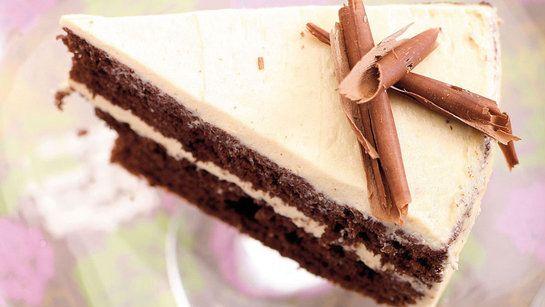 Kakaová torta s kávovým likérom |
