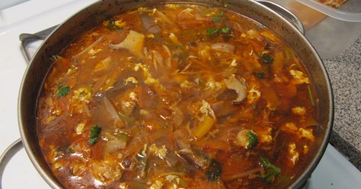 Čínska ostro-kyslá polievka, fotogaléria 1 / 1.