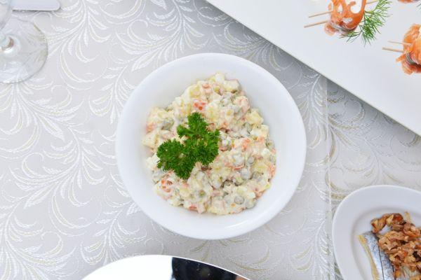 Vlašský šalát s domácou majonézou |