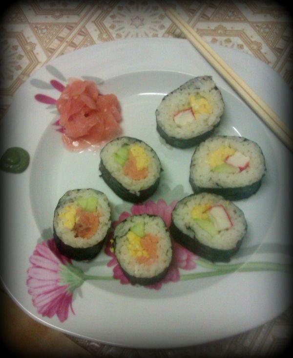 Domáce sushi |