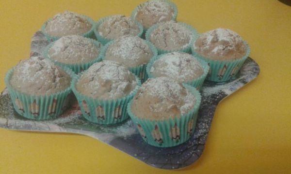 Orechovo  škoricové muffiny |
