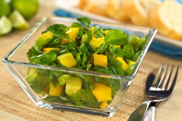 Mango-avokádový šalát |