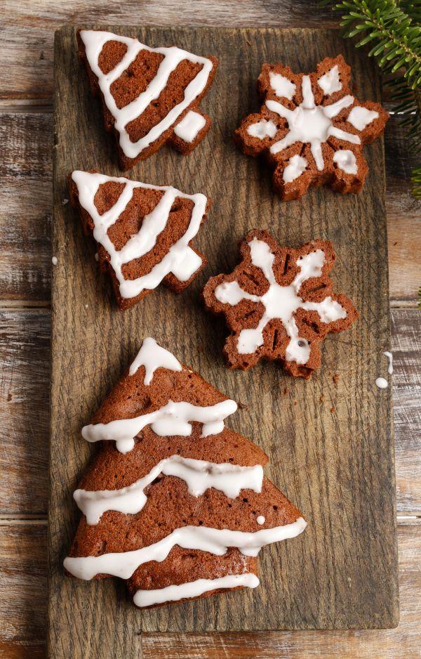Vianočné kakaové sušienky |