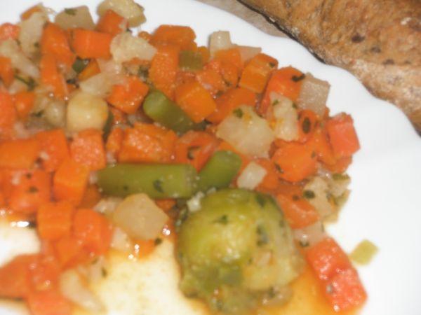 Dusená zeleninka  