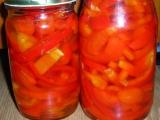 Zavarana paprika s olejom