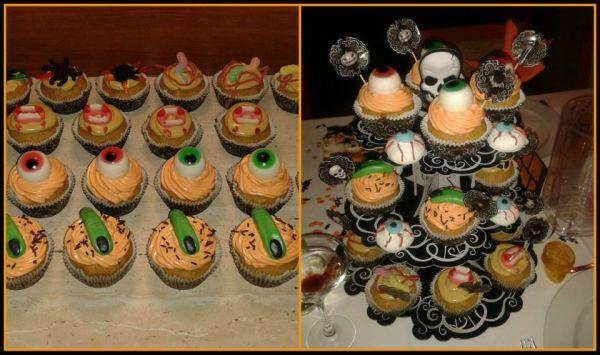 Tekvicové strašidelné muffiny |