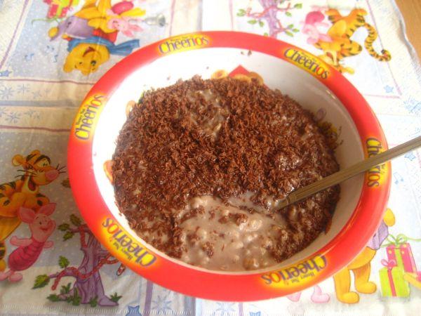 Čokoládová mliečna ryža |