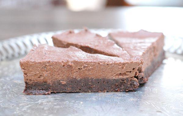 RAW čokoládový koláč |