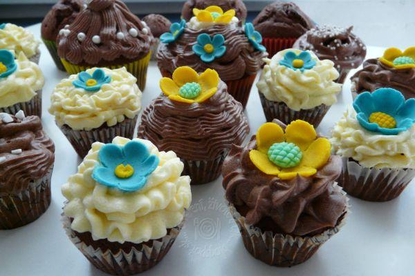Čokoládový cupcakes |