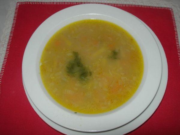 Zeleninová polievka s fazuľkou |